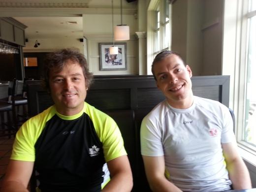 Louis Bouchard et François Pépin, nouvel entraîneur au CNEPH