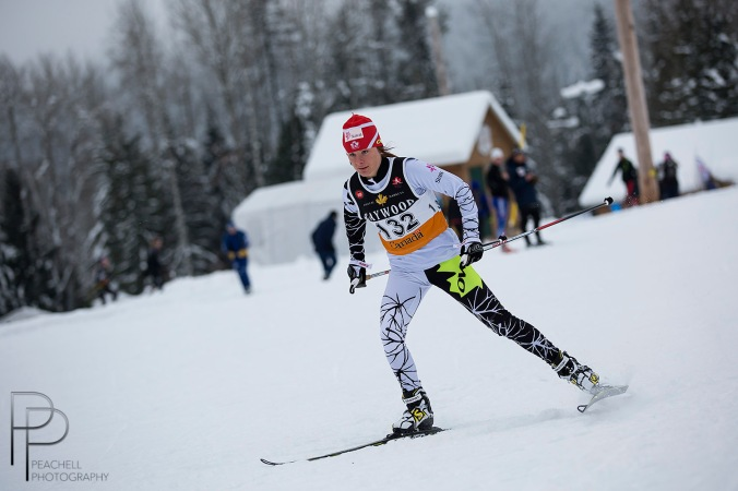 Anne-Marie Comeau a connu un week-end du tonnerre chez les jrs: 3e au sprint patin et 1re au 10 km classique!/Another fabulous w-e for jr Anne-Marie Comeau: 3rd in the sprint F and 1rst in the 10 km classic!