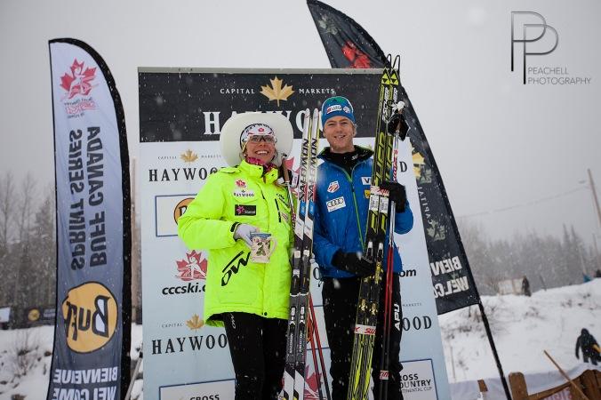 Heidi Widmer et Erik Bjornsen