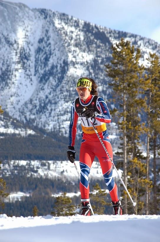 Olivia Bouffard-Nesbitt a aussi connu une formidable fin de semaine et elle s'est qualifiée pour les mondiaux U23. (Photo: Angus Cockney)