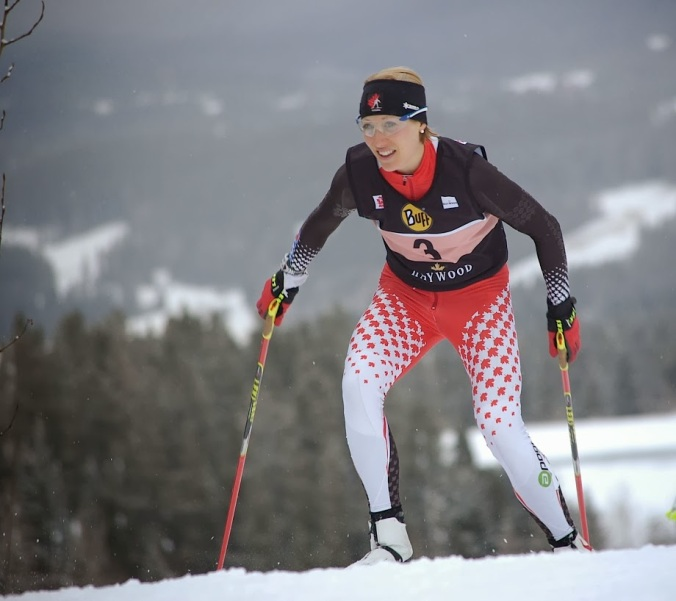 Zina Kocher came close, but... She will represent Canada in Sochi alongside biathlete Philippe Le Guellec. (Photo: Angus Cockney)