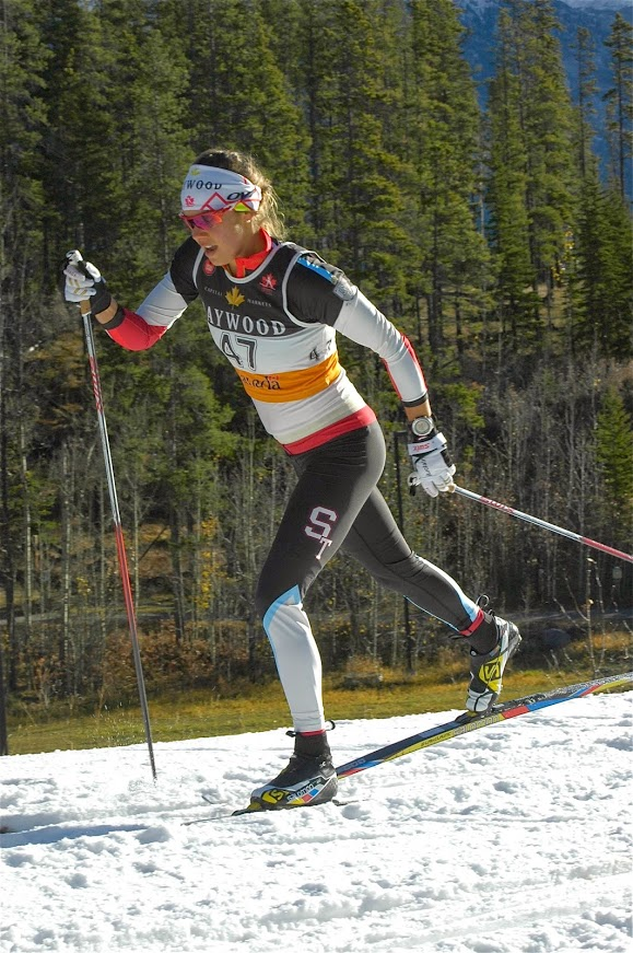 Heidi Widmer placed a respectable 4th/Heidi Widmer a obtenu une 4e position fort respectable (photo: Angus Cockney)
