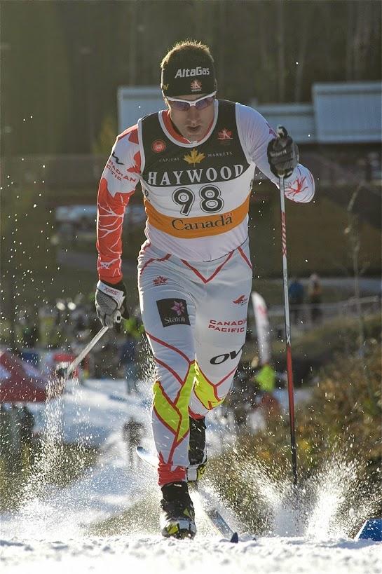 Ivan Babikov, spécialiste des courses de distance, a fini 23e (photo: Angus Cockney)/Ivan Babikov, an ace in distance races, finished 23rd (photo: Angus Cockney)