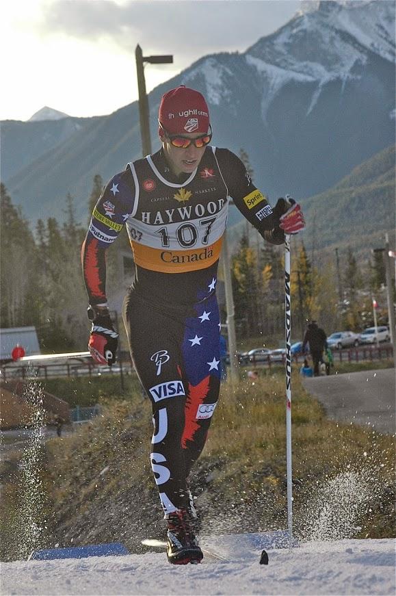 US Ski Team Noah Hoffman, 22nd (photo: Angus Cockney)