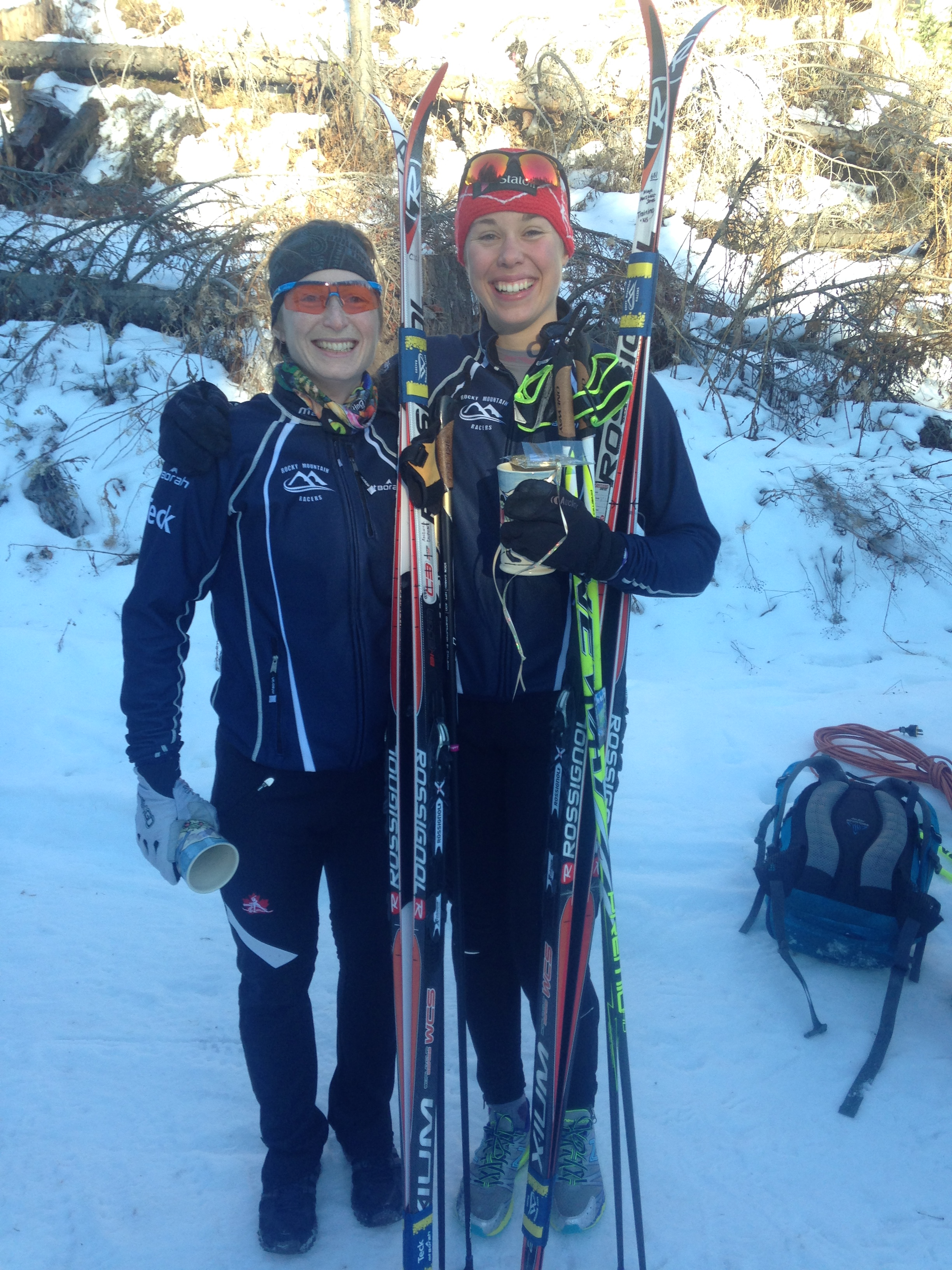 Andrea Dupont and Maya MacIsaac-Jones