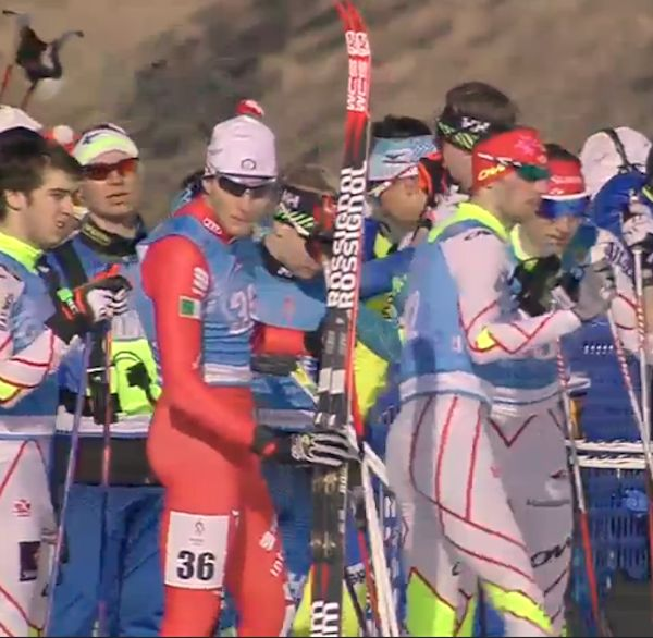 Philippe Boucher, Zachary Cristofanilli et Alexis Dumas avant la course (photo: SVT)
