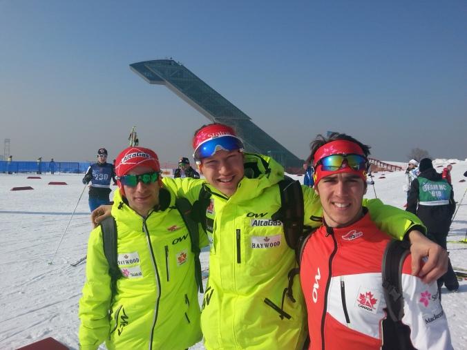 Zachary Cristofanilli, Alexis Dumas et Philippe Boucher