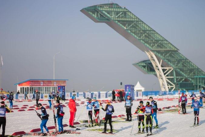 Stade à Almaty