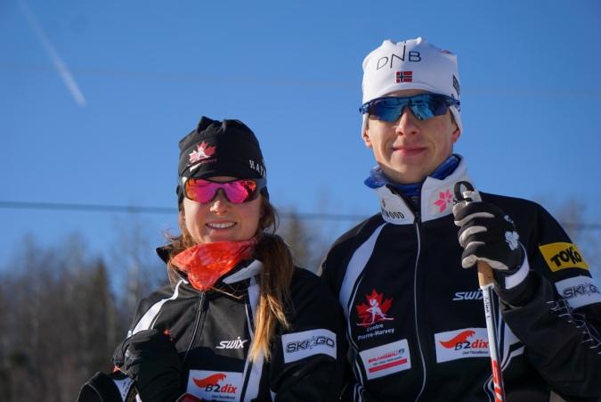 Marie Corriveau et Julien Lamoureux