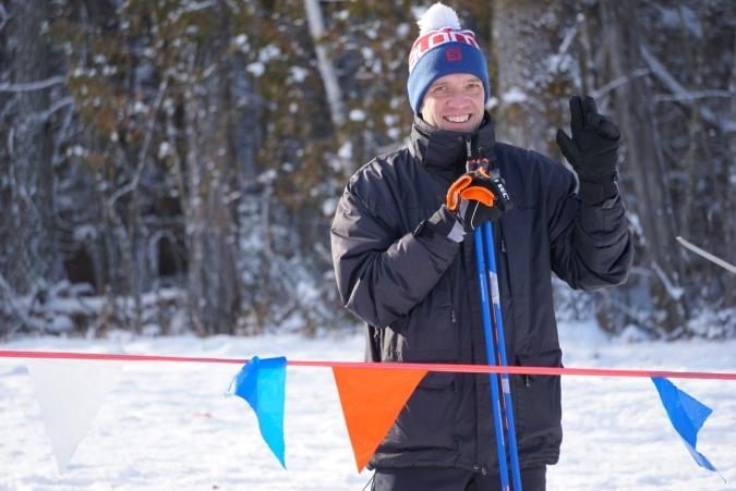 Carl Boucher Un sport d'hiver... (photo: pierre shanks)