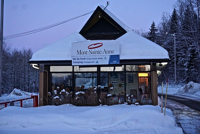 Ski de fond Mont-Sainte-Anne Cross-country skiing