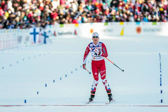 Cendrine Browne, 26e! (photo: Modica/Nordic Focus)