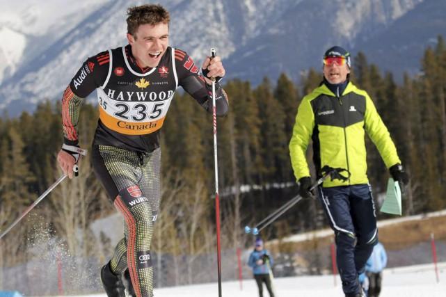 Léo Grandbois aux nationaux de ski de fond 2017 (photo: Ski de fond Québec)