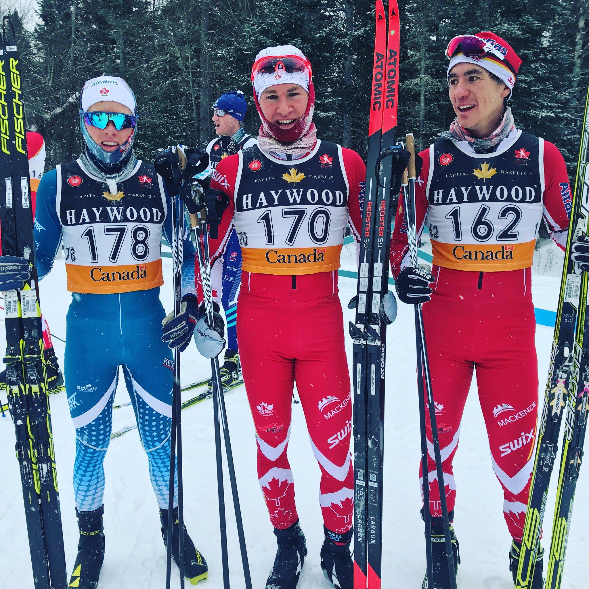 Gareth Williams, Knute Johnsgaard & Graham Nishikawa (photo: cccski)