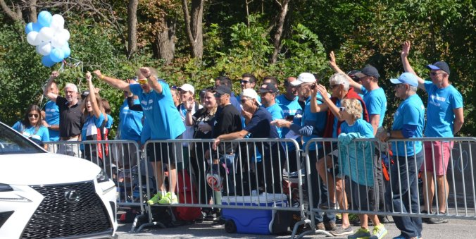 James Piccoli Fan Zone (photo: Rob Ramsey)