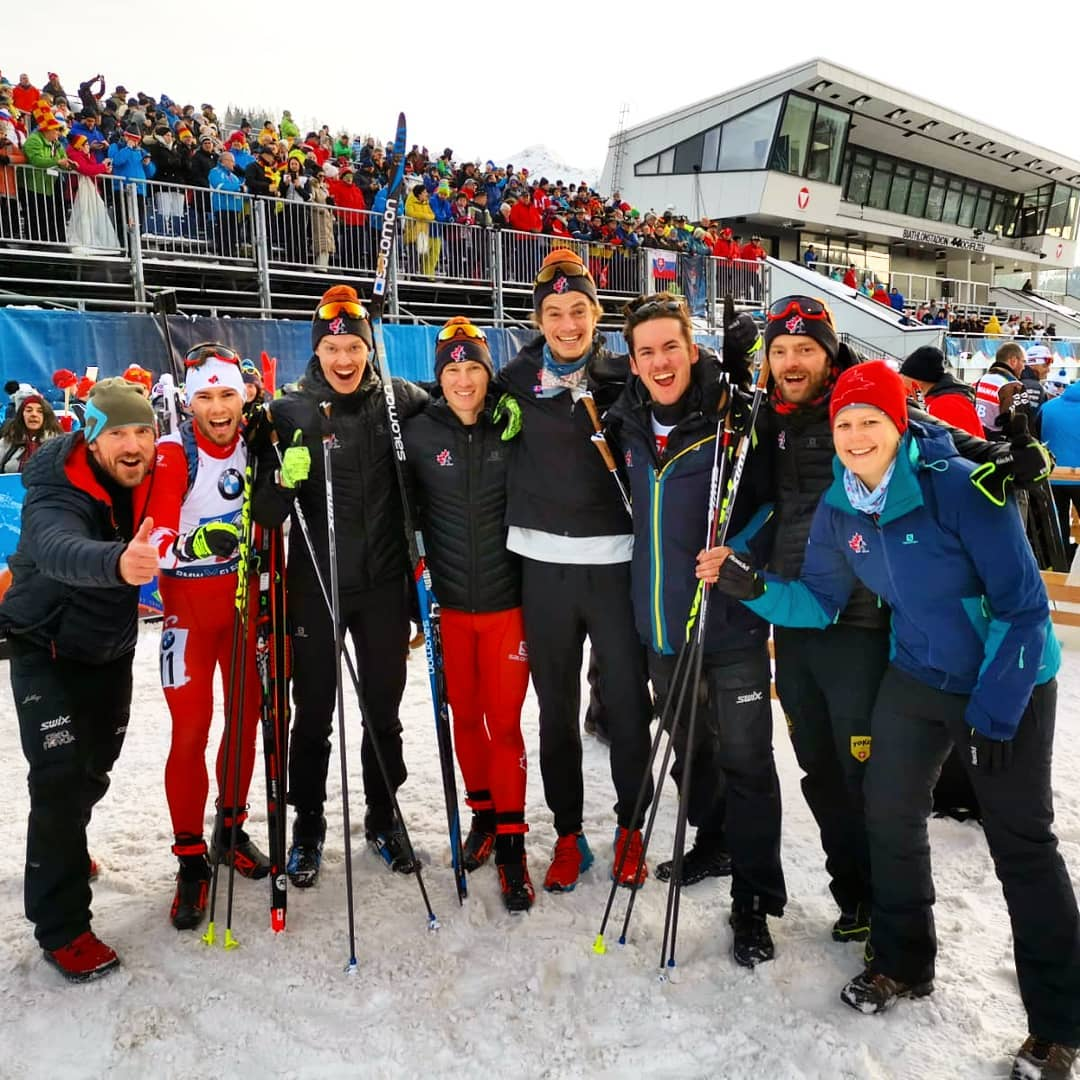 Biathlon Canada Men's Relay Team - (photo: @lesioski)
